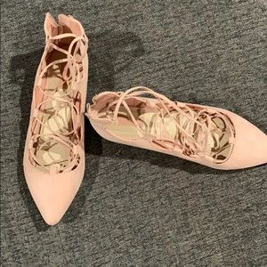 Suede lace up shoes